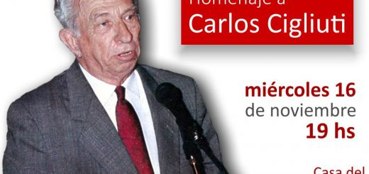 Homenaje Carlos Walter Cigliuti