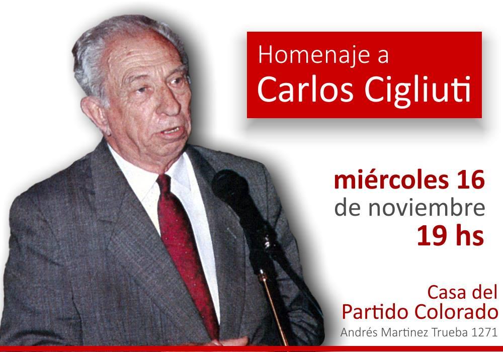 Homenaje a Carlos Walter Cigliuti