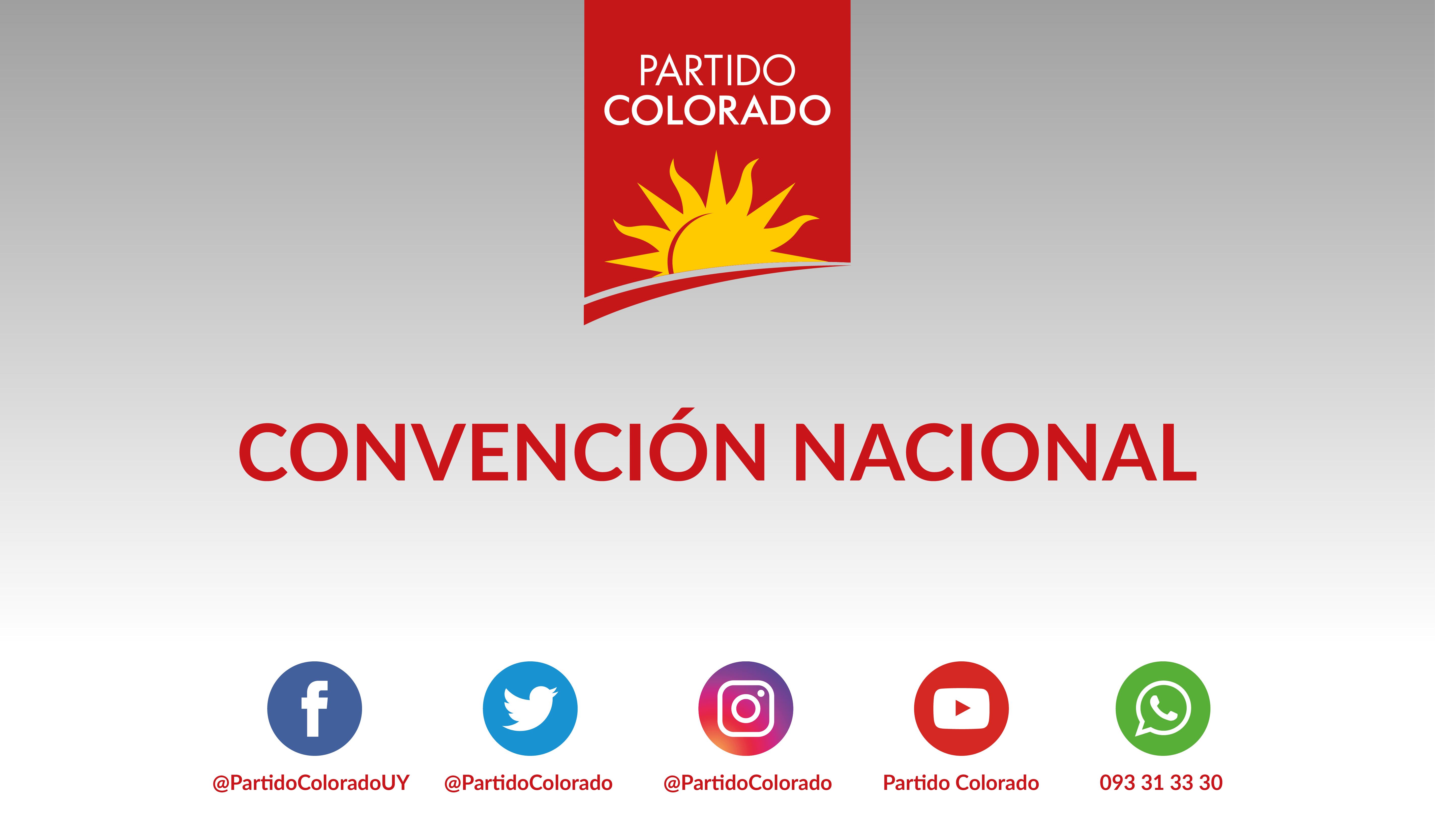 Mociones aprobadas por la Convención Nacional del 1º de abril de 2017