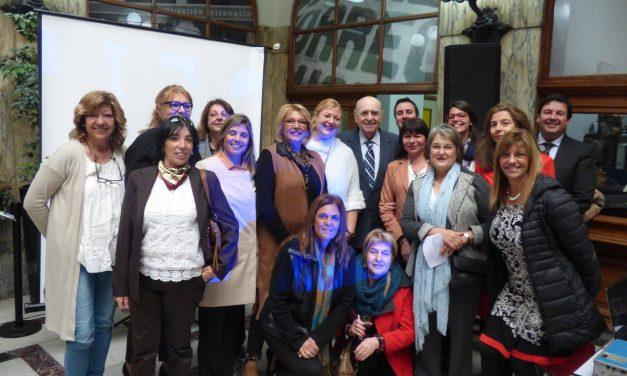 Matasello por 25 años de la Red de Mujeres Políticas del Uruguay